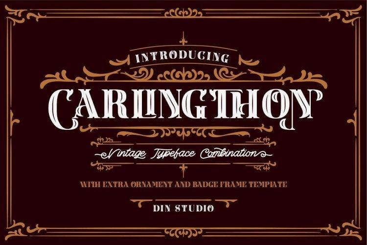 Carlingthon Vintage Font Pack 5200814