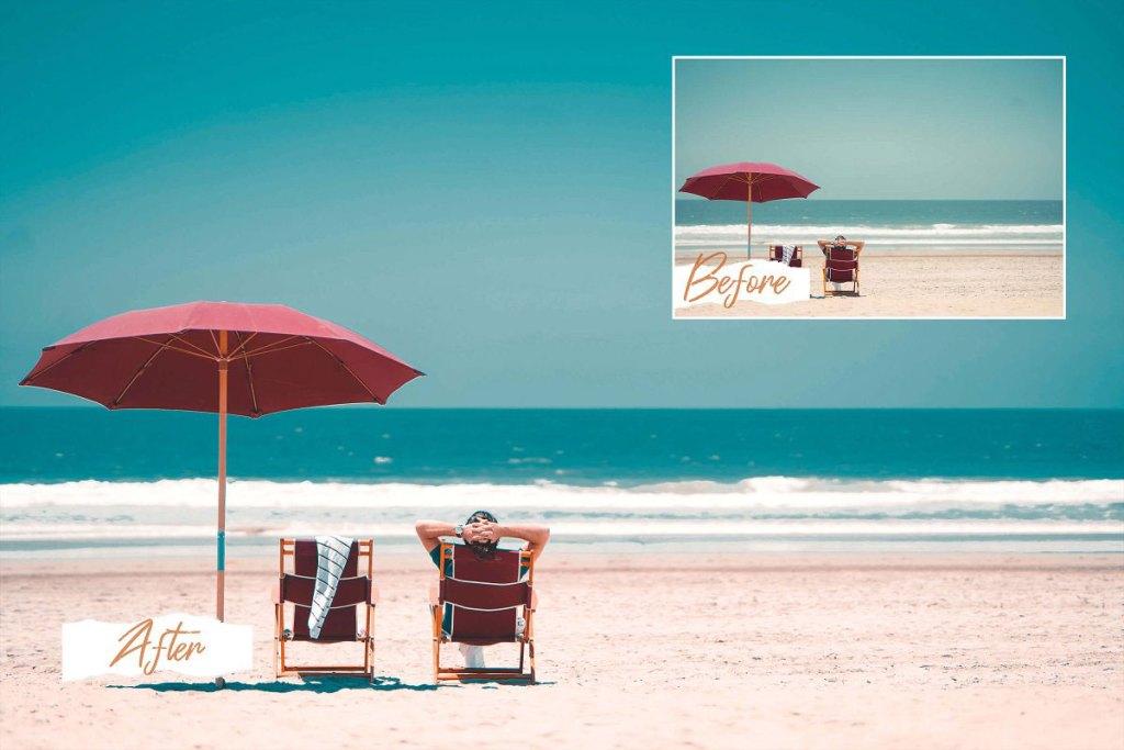 CreativeMarket Miami Bright Summer Photo Filters 5118387.