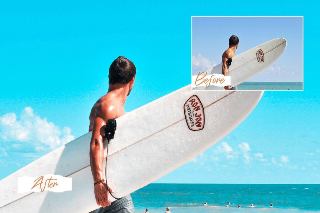 CreativeMarket Miami Bright Summer Photo Filters 5118387
