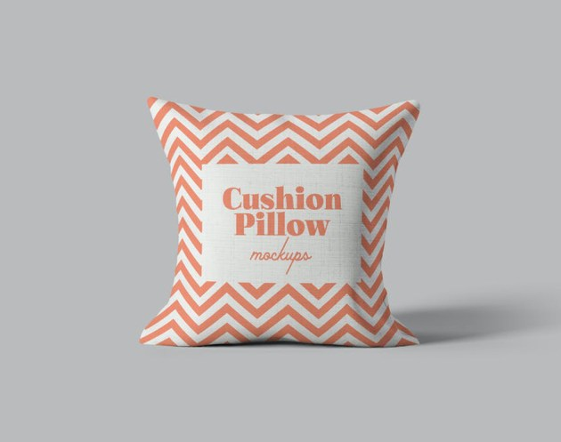 Cushion Pillow Mockups