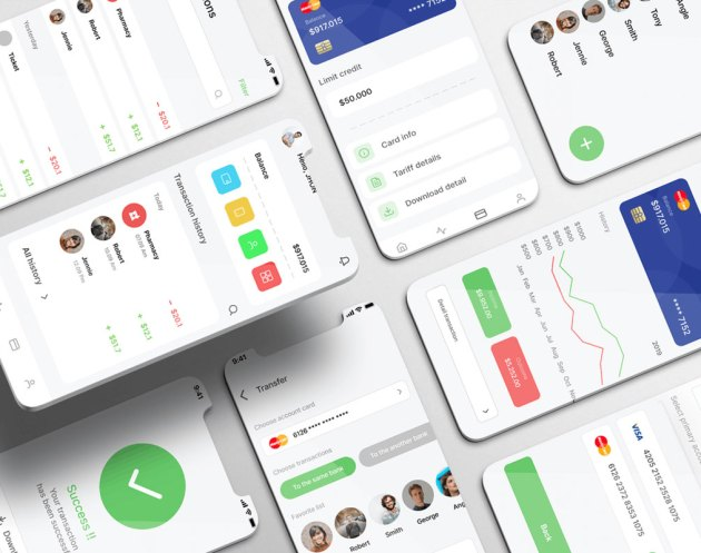 Finanza UI Kit - Dating Apps