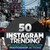 50 Instagram Trending Photoshop Actions 26644868