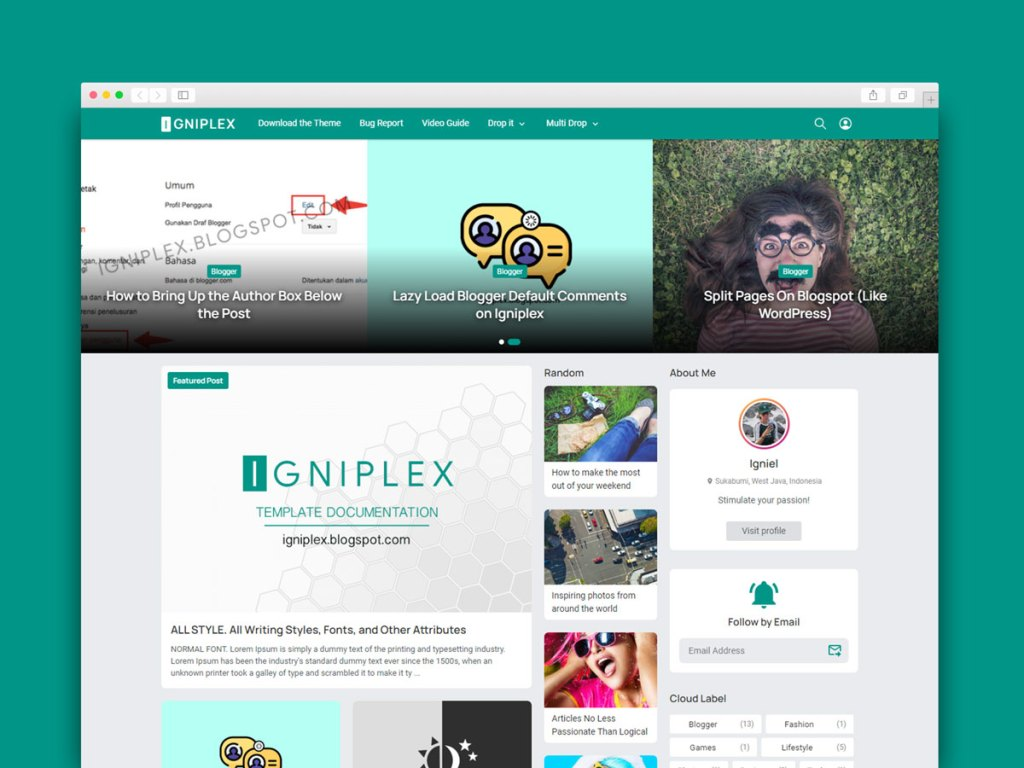 Material Design Blogger Template Download Now