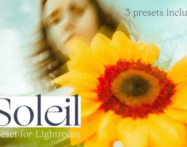 SOLEIL - PRESET FOR LIGHTROOM 5058469