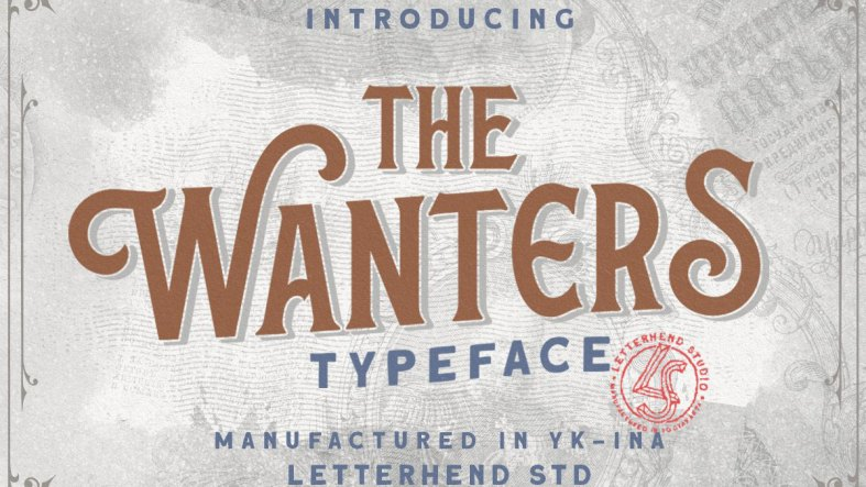 The Wanters - Display Typeface - 5161268
