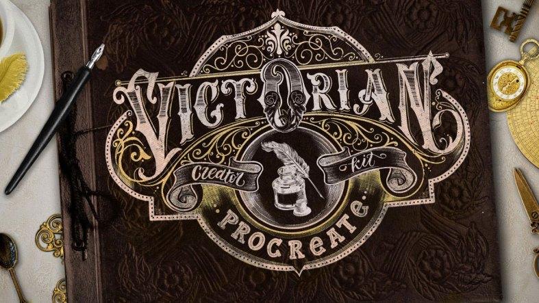 Victorian Lettering Creator Kit 4788869