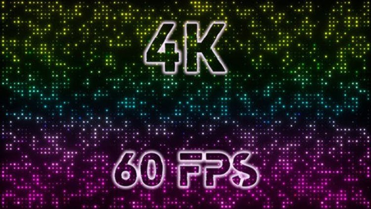Videohive 4k Colored Led Lights Stage 25658411