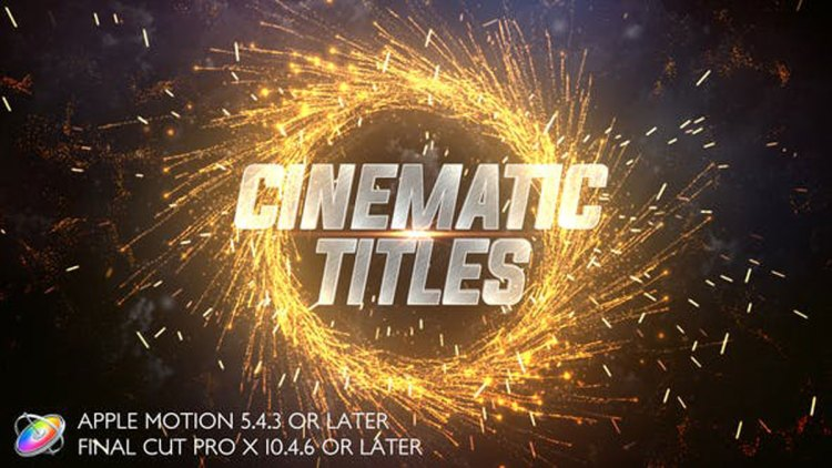 Videohive Cinematic Trailer Titles Apple Motion 27422919