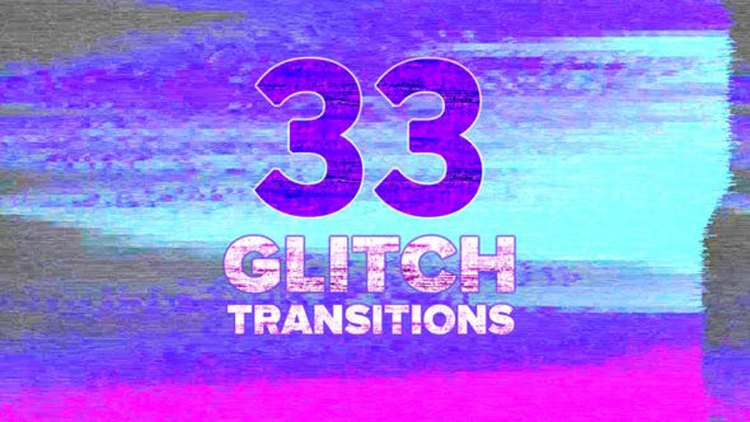 Videohive Glitch Transitions Pack 25833463