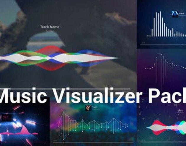 Videohive Music Visualizer Pack 23792830