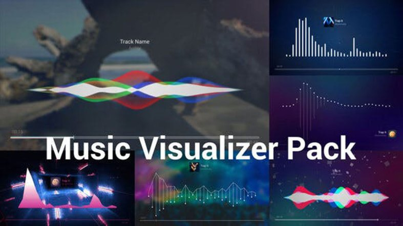Videohive Music Visualizer Pack 23792830