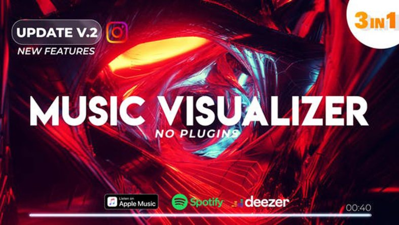 Videohive Music Visualizer Spectrum V2 25505054