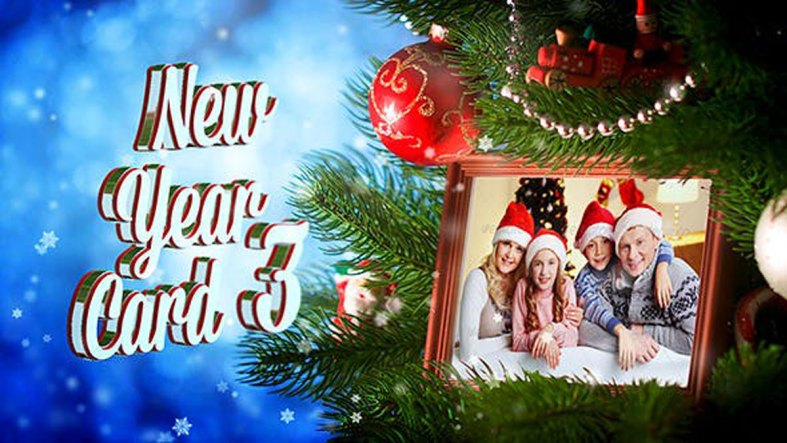 Videohive - New Year Card 3 - 18628564