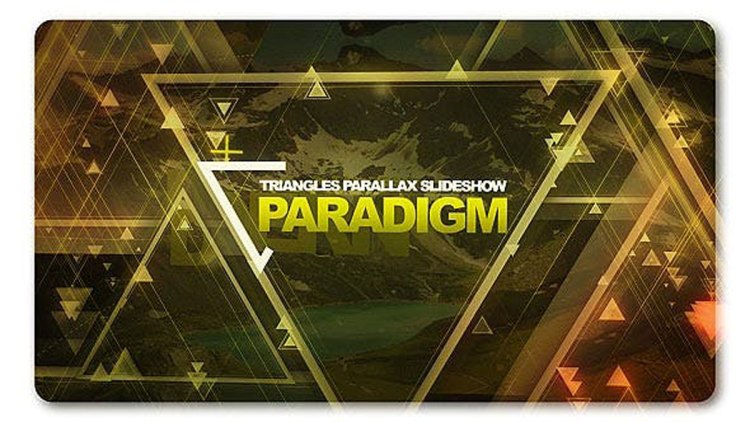 Videohive Paradigm Triangles Parallax Slideshow 27804968