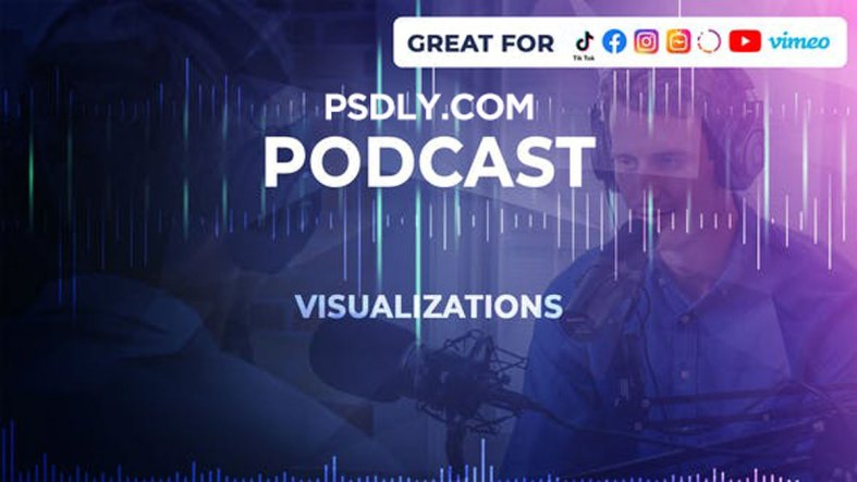 Videohive - Podcast Visualizations - 26390691