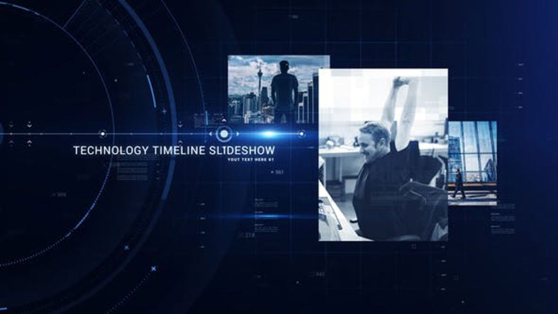 Videohive Technology Timeline Slideshow - 27419342