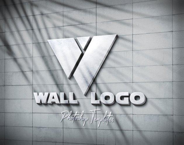 Wall Logo Sign Mockups 26496979