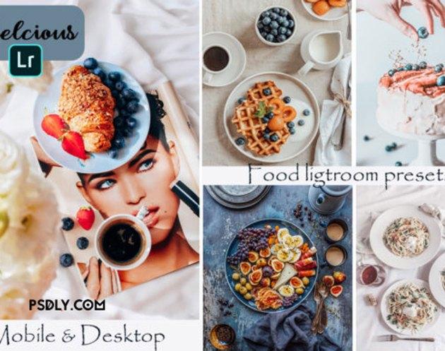 Food Blogger Lightroom Presets Graphic