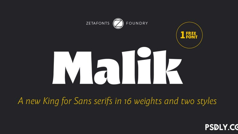 Malik Font Family
