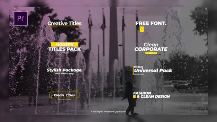 Videohive Minimal and Creative Titles 25656446