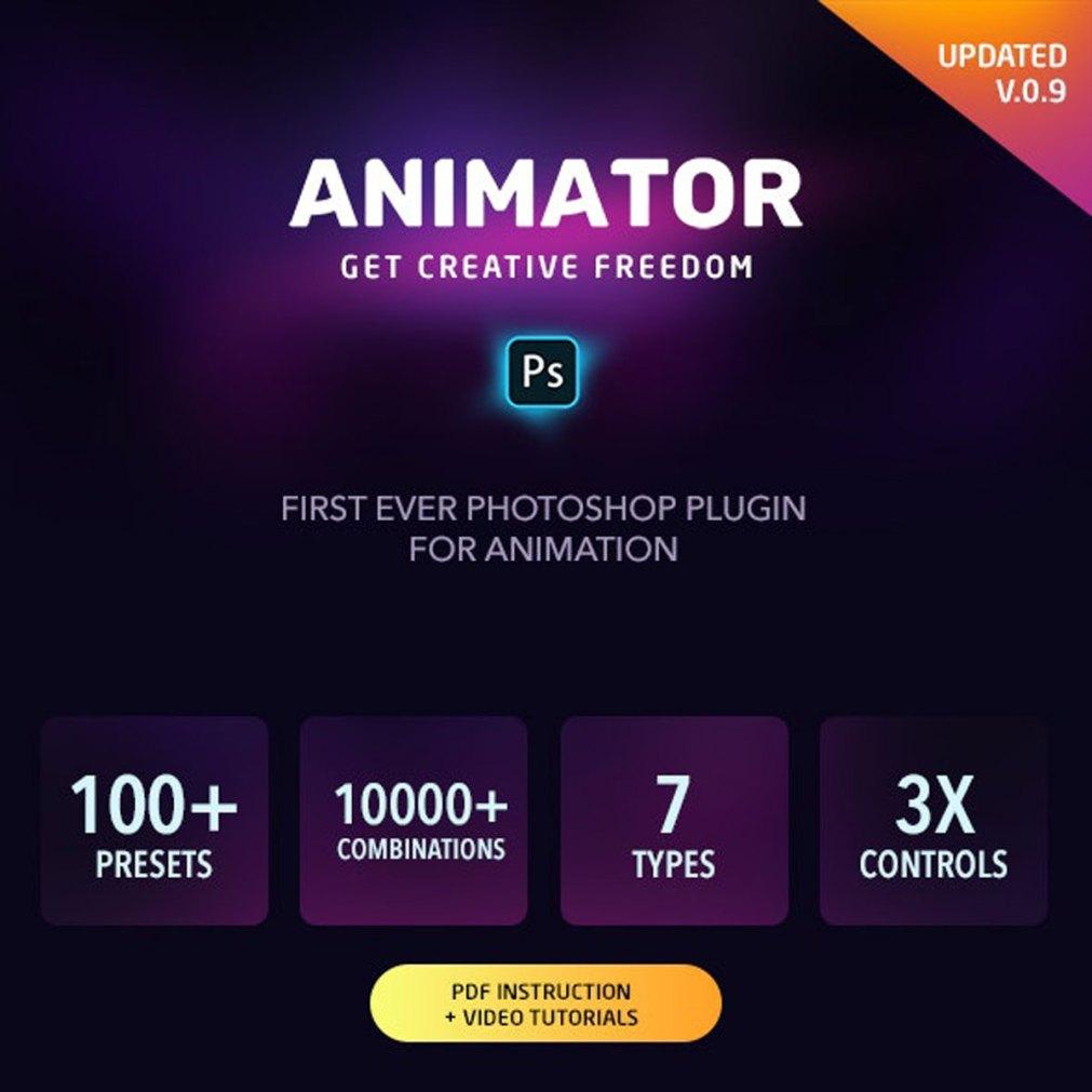 Animator Photoshop Plug in for Animated Effects V.0.9 1