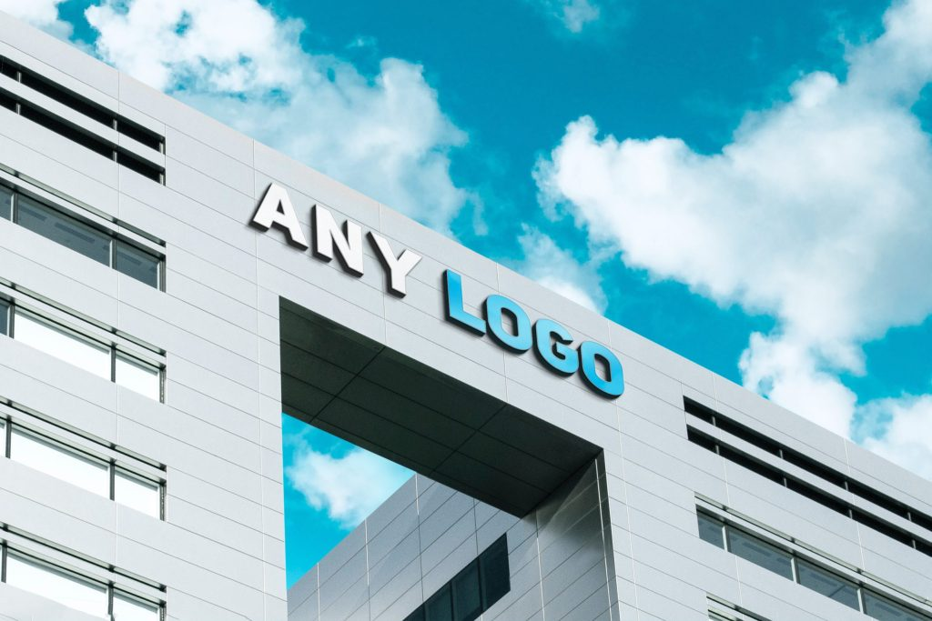 Any Logo 3D Company Logo Mockup scaled 1