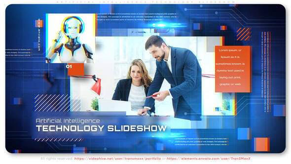 Videohive Artificial Intelligence Technology Slideshow 28442195