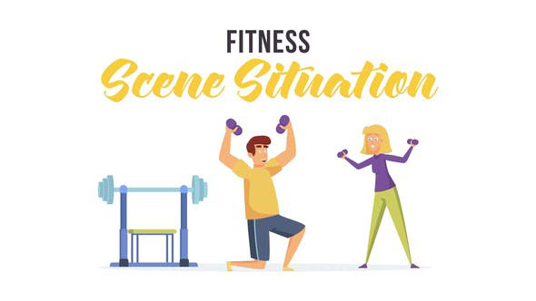 Videohive Fitness Scene Situation 28479771
