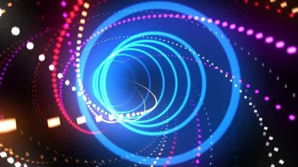 Videohive Neon Light VJ Loop 01 27243922