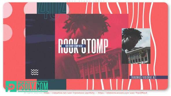 Videohive Rock Stomp Intro 28610621