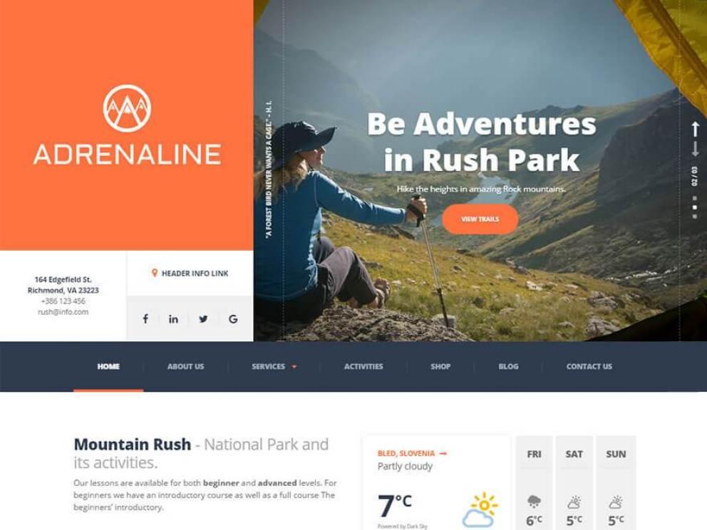 adrenaline profile