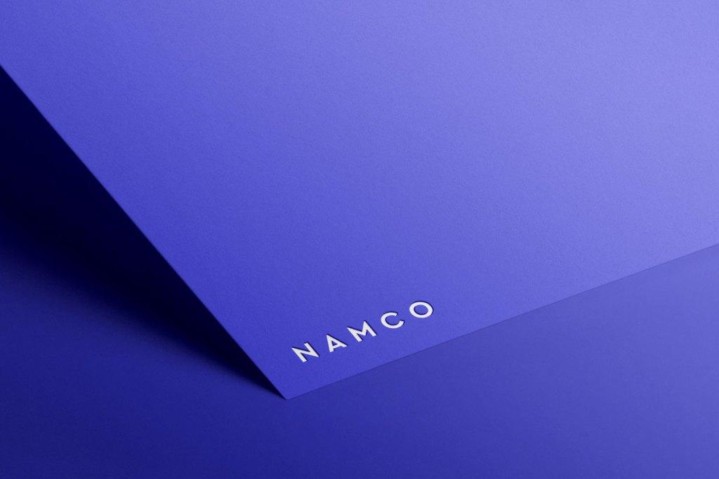 minimalist paper logo mockup free download