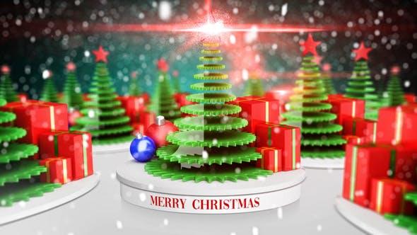 Videohive Short Christmas Greeting 22852885