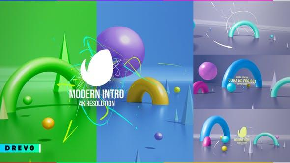 Videohive Modern Intro 29051666