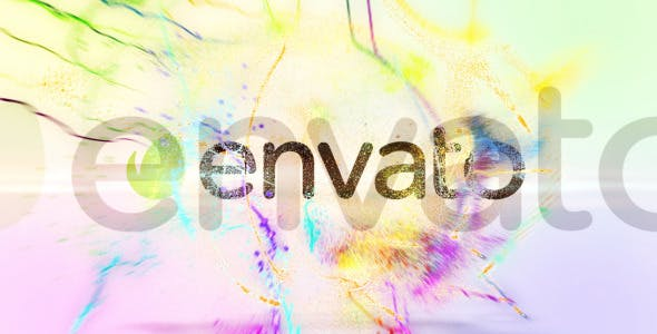 Videohive Colorful Particle Trial Logo Reveal 10448003