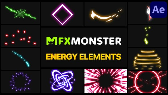 Videohive Energy Pack After Effects 28963315
