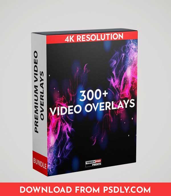 Video-Presets 300+ 4K VIDEO OVERLAYS