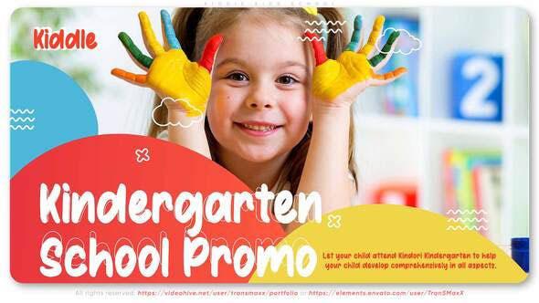 Videohive Kiddie Kids School 28805868