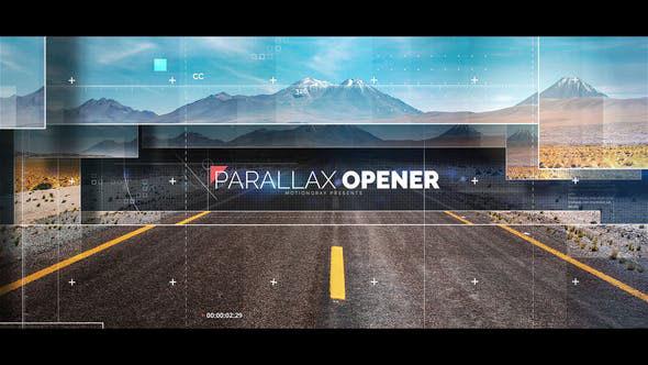 Videohive Parallax Opener 21640181