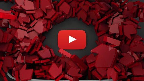 Videohive Youtube 3D Logo 29103792