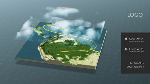 Videohive World Map Connector 29504986