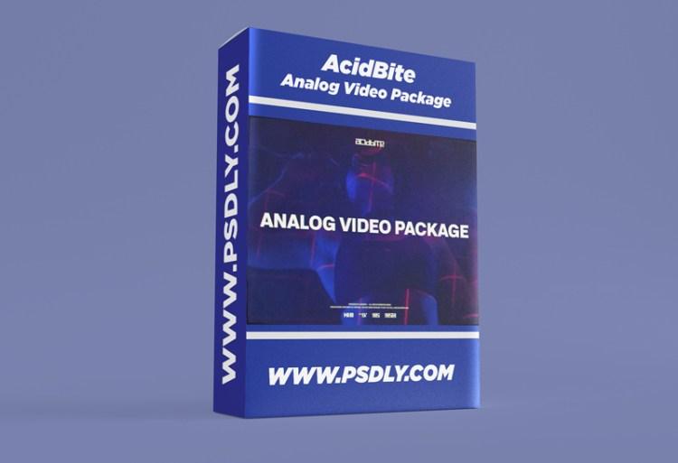 AcidBite – Analog Video Package
