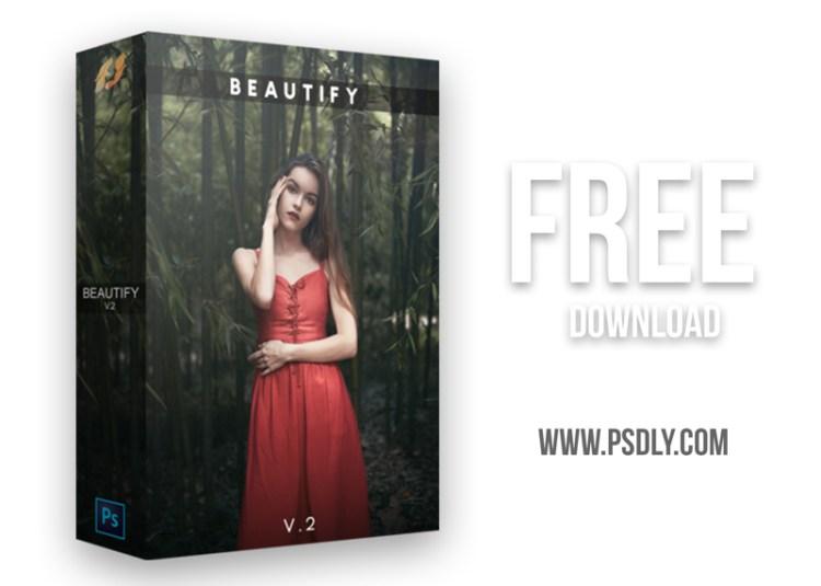 Beautify v2 – Premium Retouch Panel