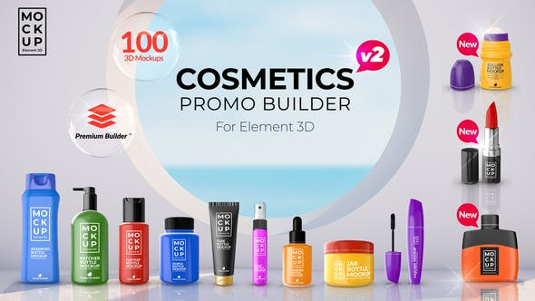 Videohive - Cosmetics Promo Builder V2 - 27750938