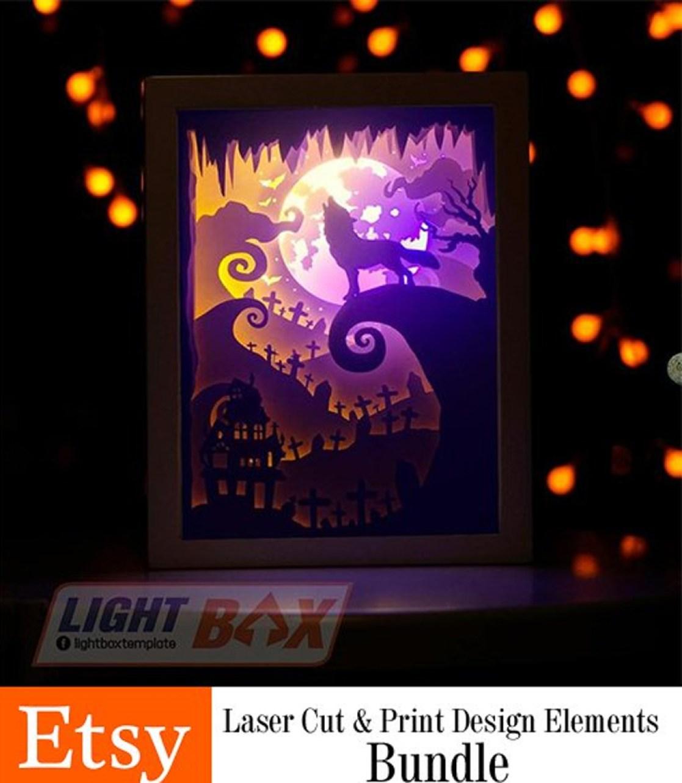 ETSY – Laser Cut Print Design Elements Bundle