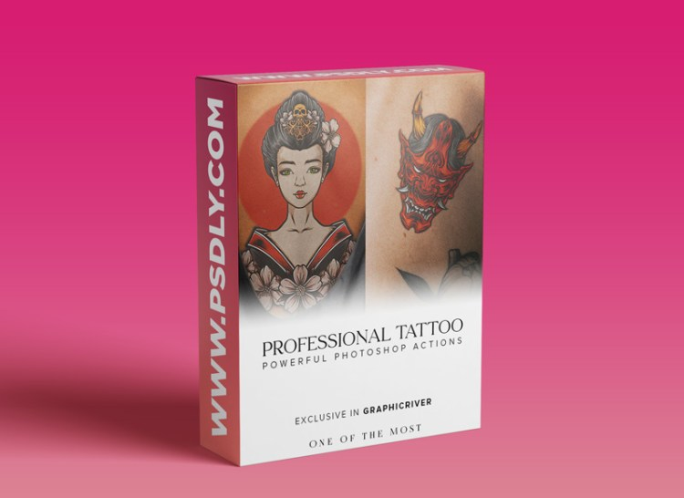 GraphicRiver – Professional Tattoo Photoshop Actions 29396958