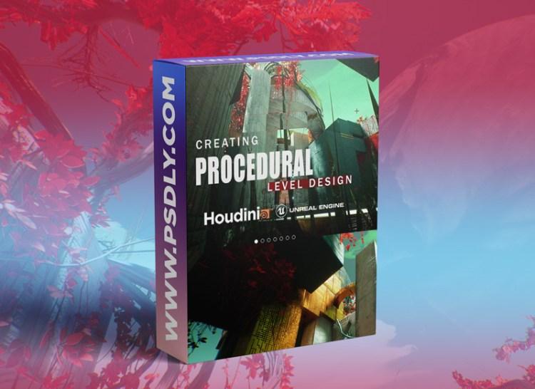 Gumroad – Houdini Tutorial Procedural Level Design in UE4