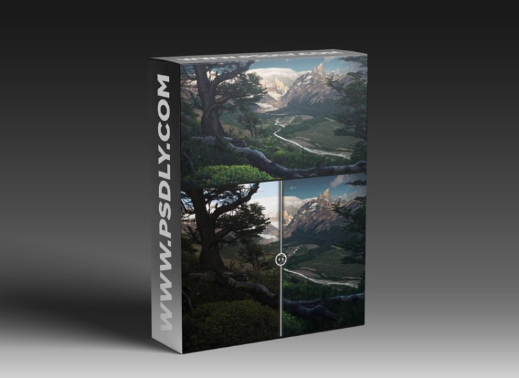 Max Rive - Green paradise + 48 MIN BONUS PROCESSING VIDEO + 3 RAW FILES