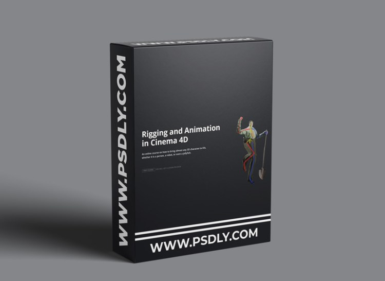 Motion Design School – Rigging And Animation In Cinema 4d