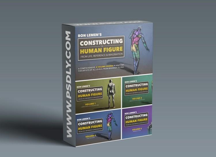 MuddyColors - Constructing the Human Figure : 5 Volume Set